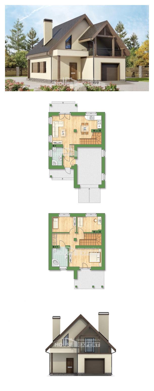 Проект дома 120-005-Л | House Expert