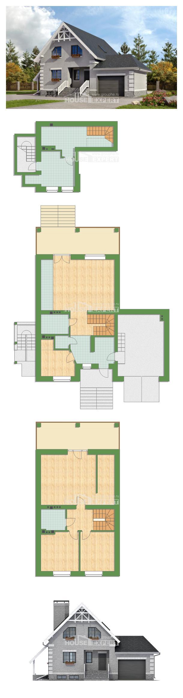 Проект дома 200-009-П | House Expert
