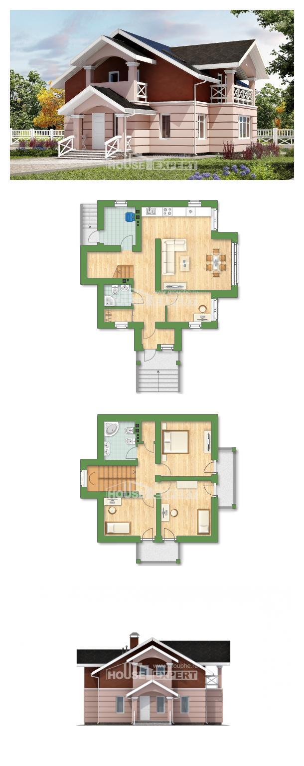 Проект дома 155-009-Л   House Expert