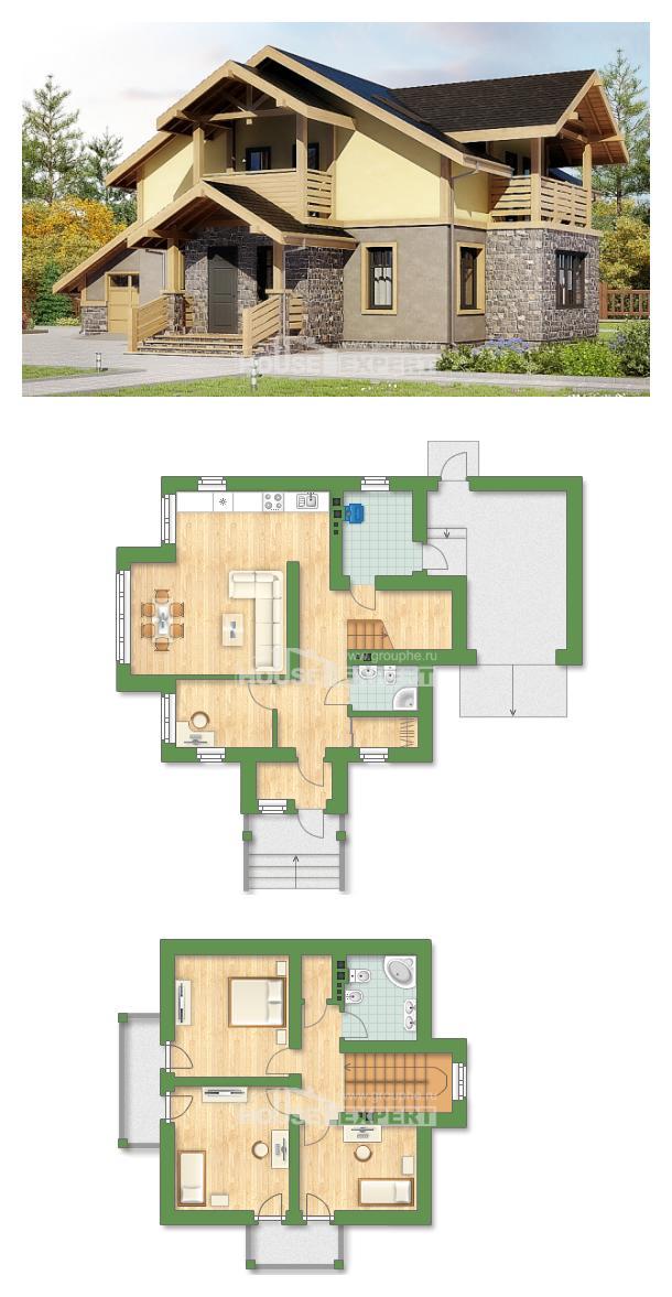 Проект дома 180-011-П | House Expert