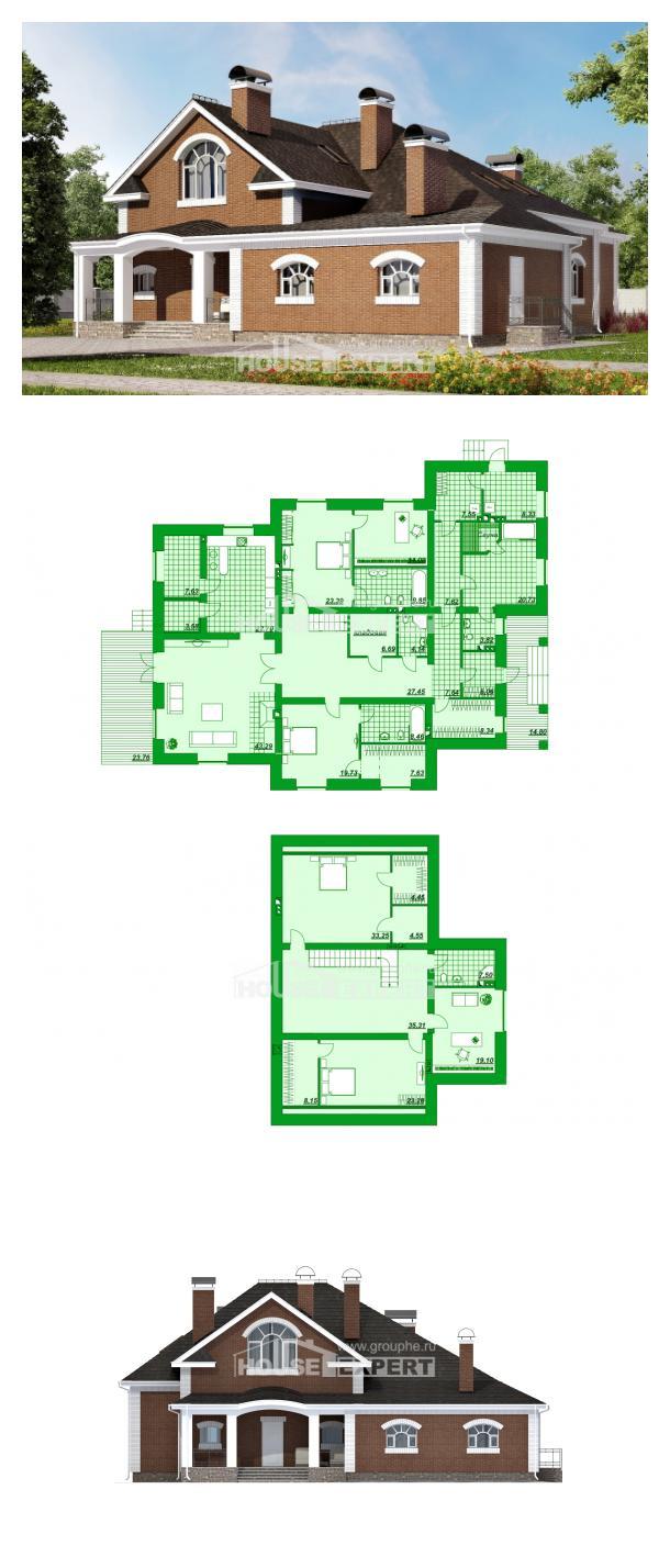 Проект дома 400-003-П | House Expert