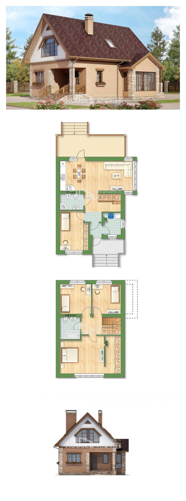 Проект дома 140-002-П | House Expert