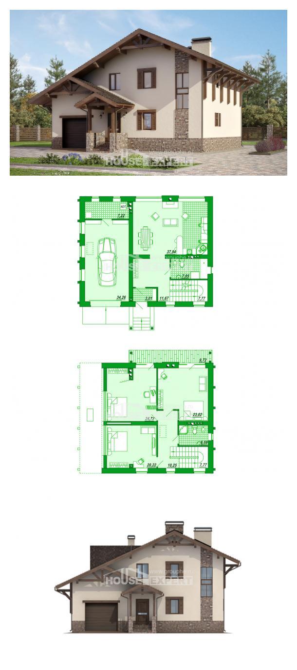 Проект дома 190-007-Л   House Expert