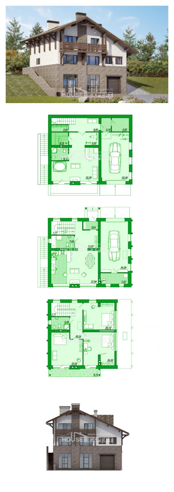 Проект дома 305-002-П   House Expert