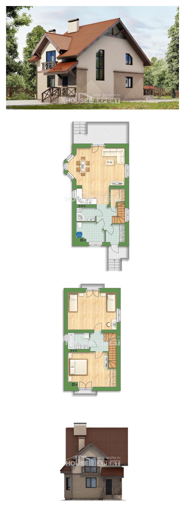 Проект дома 120-003-Л   House Expert