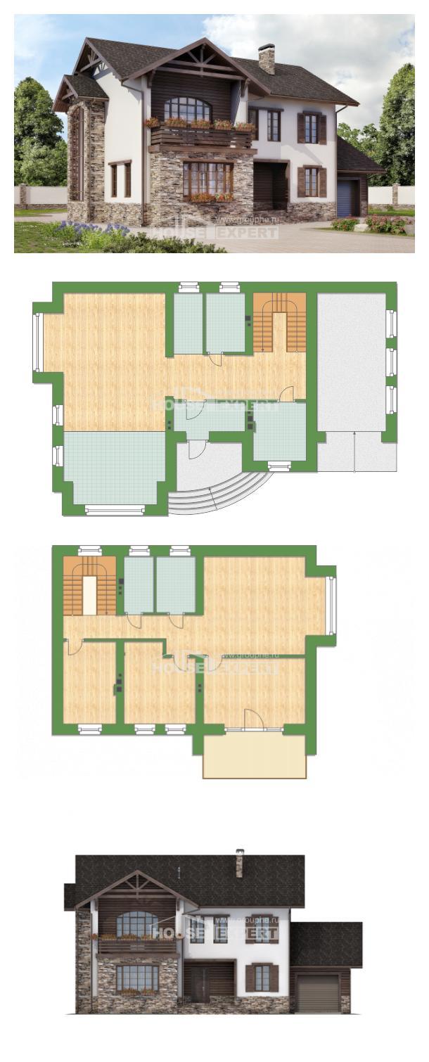 Проект дома 200-005-П | House Expert