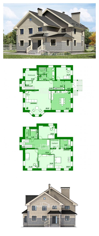 Проект дома 300-004-П   House Expert